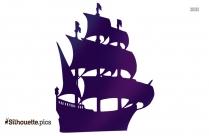 Alaska Cruise Silhouette Clipart