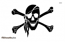 Pirate Boy ClipArt Silhouette