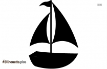 Sailing Boat Clip Art Silhouette