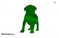 Puppy Silhouette