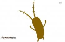 Cartoon Minion Silhouette Image