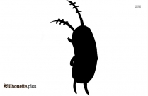 Zookeeper Cartoon Character Silhouette