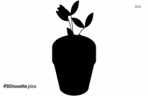 Stronger Plant Silhouette Clip Art