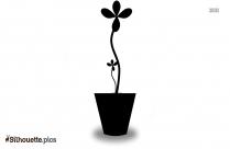 Flower Plant Decor Silhouette