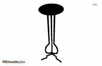 Picnic Table Silhouette Image