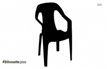 Folding Rope Chair Silhouette