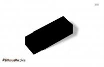 Plastic Eraser Silhouette