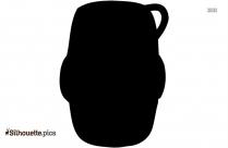 Plastic Keg Silhouette Clip Art