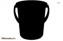 Bucket Silhouette Picture