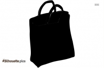 Plastic Bag Silhouette Vector And Graphics