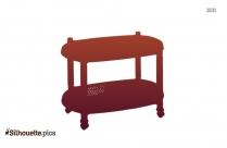 Rope Tassel Coffee Table Silhouette