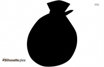 Plastic Bag Clipart Silhouette