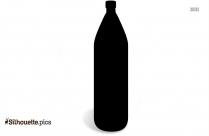 Bottle Black And White Clip Art Silhouette Image