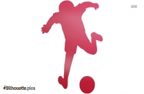 Girl Playing Soccer Silhouette Drawing