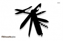 Swiss Army Knife Silhouette Icon