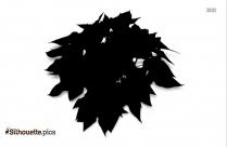 Flower Garden Clip Art Silhouette