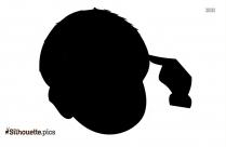 Elderly Person Silhouette Clip Art