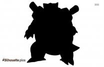 Pokemon Rufflet Evolution Silhouette Image And Vector