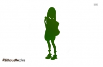 Pokemon Girl Vector Silhouette