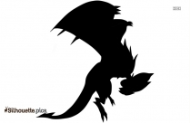 Pokemon Noivern Silhouette