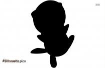 Dragon Pokemon Silhouette, Free Vector Art