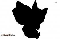 Shiny Delphox Silhouette Icon