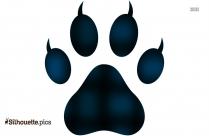 Bear Paw Transparent Clipart