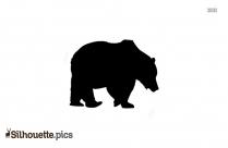 Bear Silhouette Vectors, Images