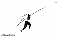 Tug Of War Silhouette Drawing
