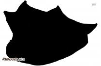 Cartoon Sombrero Silhouette