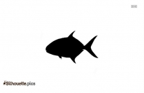 Blue Marlin Fish Silhouette