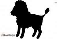 Cartoon Dog Silhouette, Domestic Animal Picture