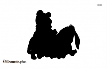 Cartoon Tigger The Tiger Silhouette