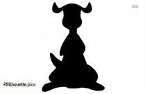 Pooh Kanga Silhouette Free Vector Art