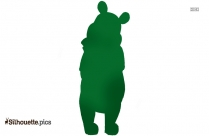 Pooh The Teddy Bear Vector