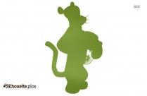 Kuromi Character Silhouette