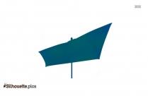 Cartoon Umbrella Silhouette Icon