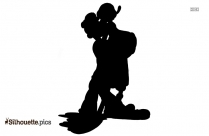 Queen Of Hearts Silhouette, Alice In Wonderland Clipart Symbol