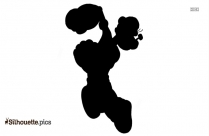 Popeye The Sailor Man Cartoon Silhouette