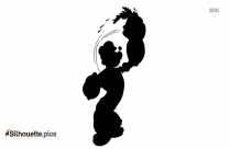 Cartoon Piglet Silhouette