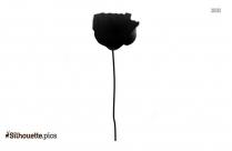 Carnation Flower Silhouette Clip Art