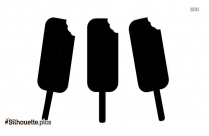 Popsicle Stick Silhouette