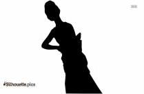 American Girl Doll Silhouette Drawing