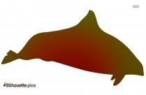 Harbor Porpoise Fish Silhouette