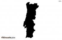 Poland Map Silhouette Vector