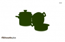 Mortar And Pestle Silhouette Drawing