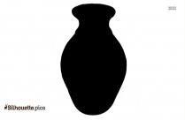 Handmade Pottery Vase Silhouette