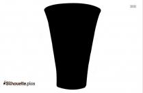 Crock Pot Vector Silhouette