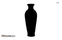 Antique Pottery Silhouette