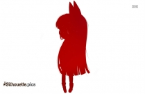 Powerpuff Anime Girl Silhouette